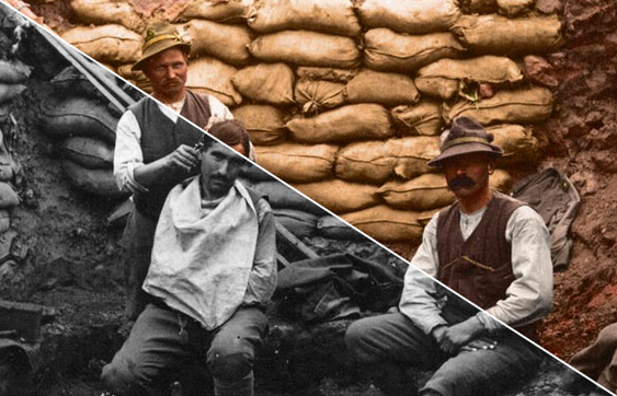 WW1 in colour for The Open University