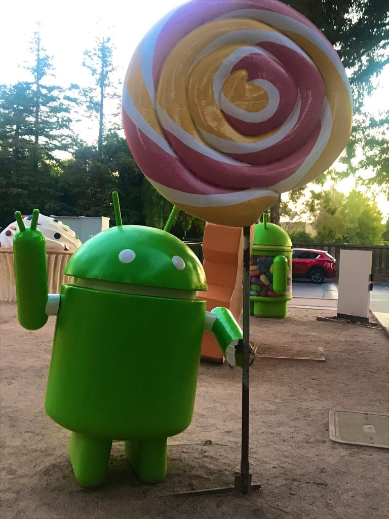 Google Android at Mountain View